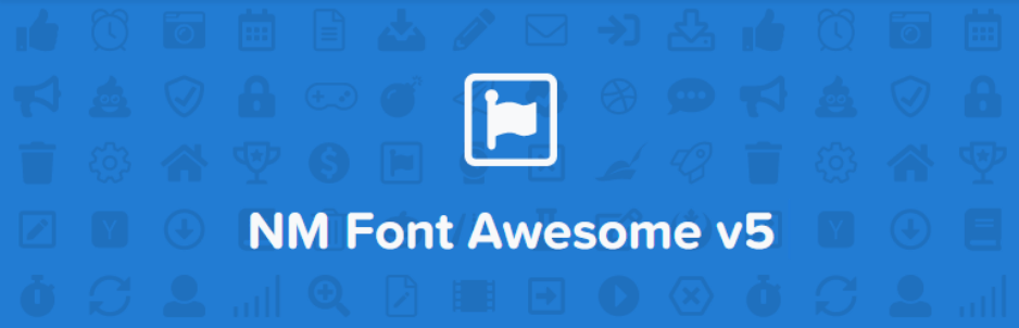 NM Font Awesome Plugin