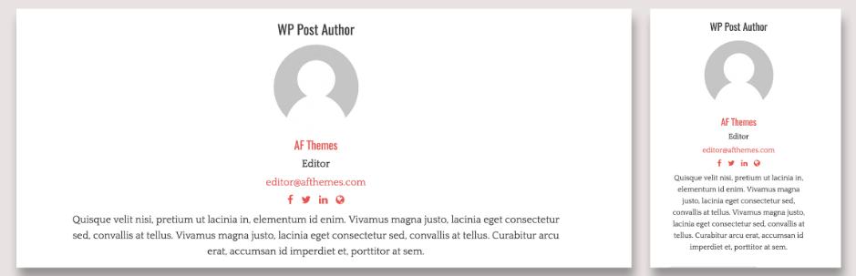WP Post Author Plugin