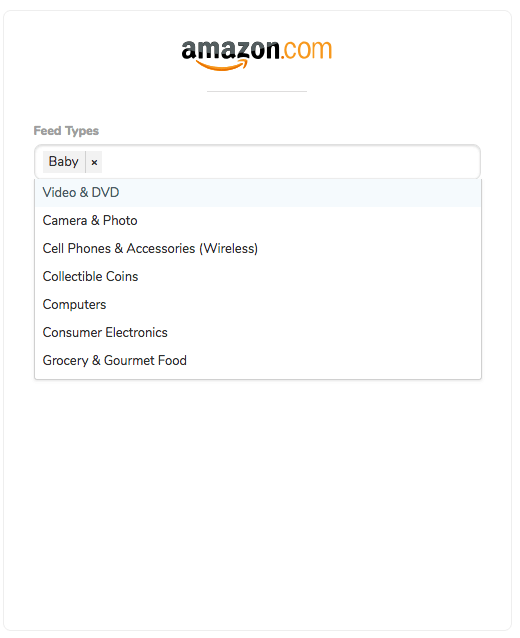 Getting Started with MultiChannel Amazon Feed Types