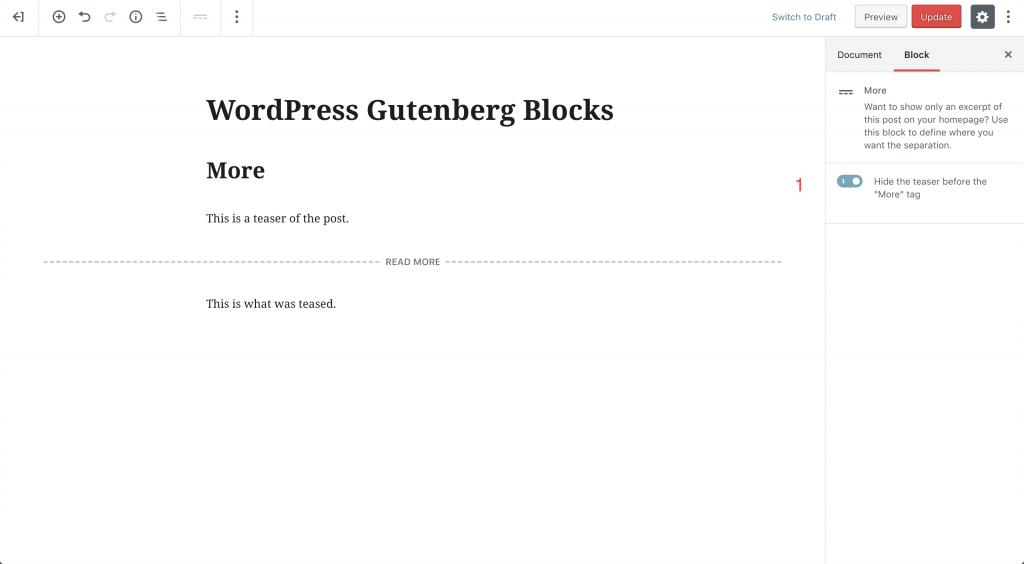 more block