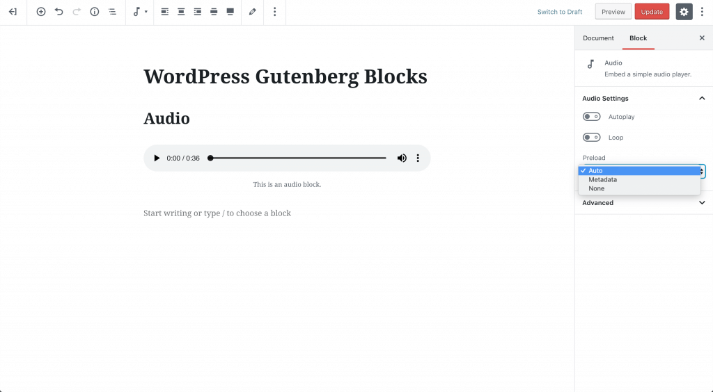 wp-audio-preload-options