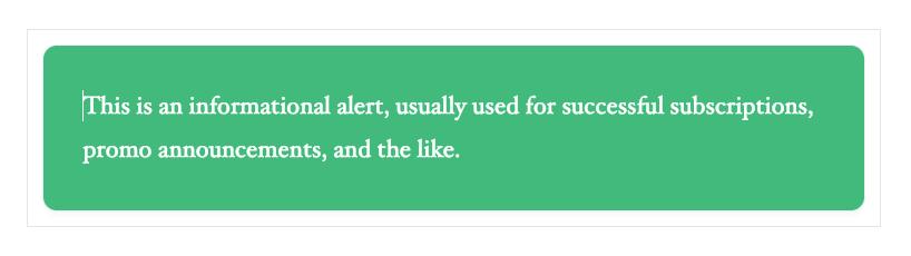 WordPress Gutenberg Stackable Notification Block