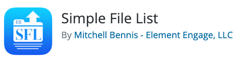 Simple File List Logo