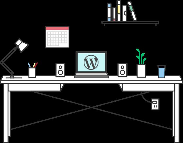 web developer desk
