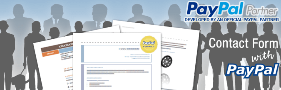 CP Contact Form with PayPal Logo