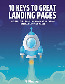 10 keys for great landing pages