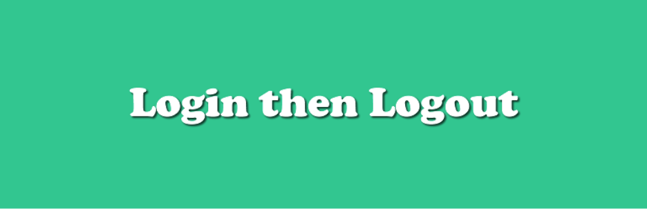 Login and Logout Logo