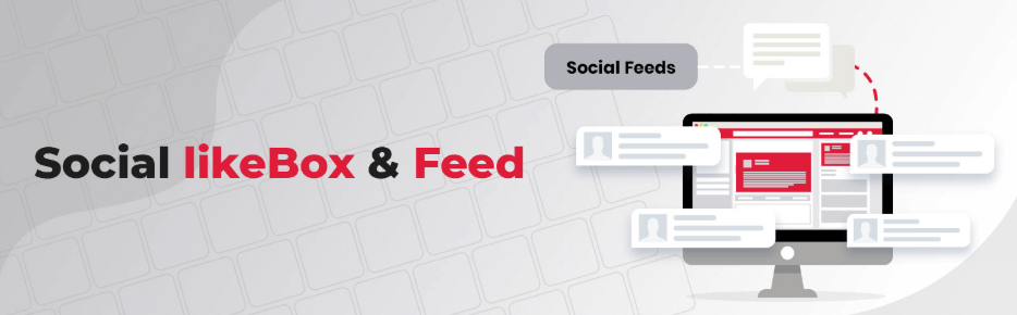 Social Likebox and Feed Logo
