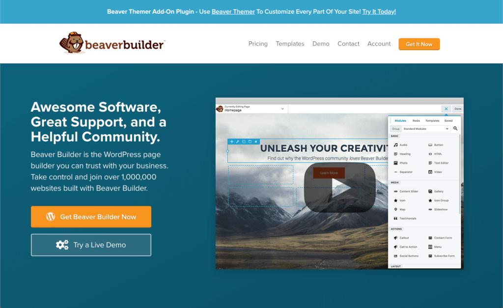 beaver builder vs visual composer