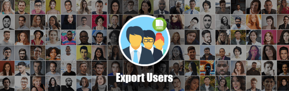Export Users to CSV Logo