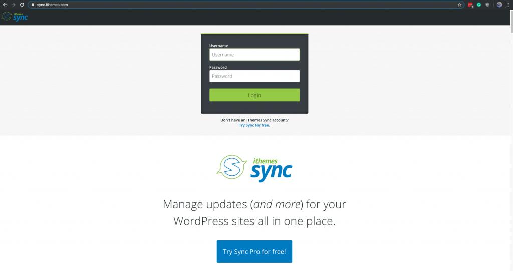 Sync Login