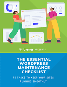 ultimate wordpress maintenance checkilst