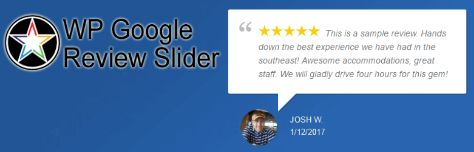 WP Google Review Slide Logo