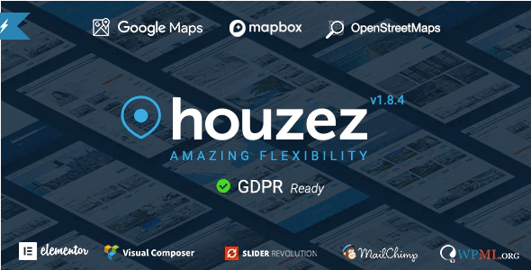 Houzez - Real Estate Logo