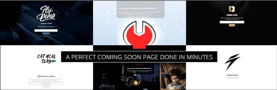 Minimal Coming Soon Page Logo