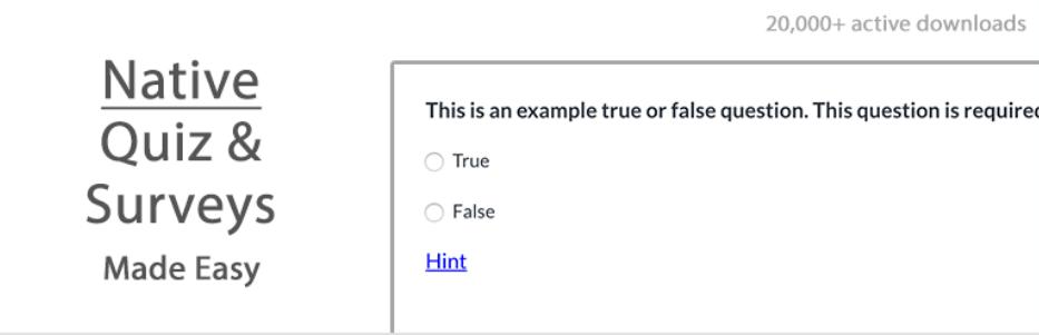 Quiz and Survey Master Logo