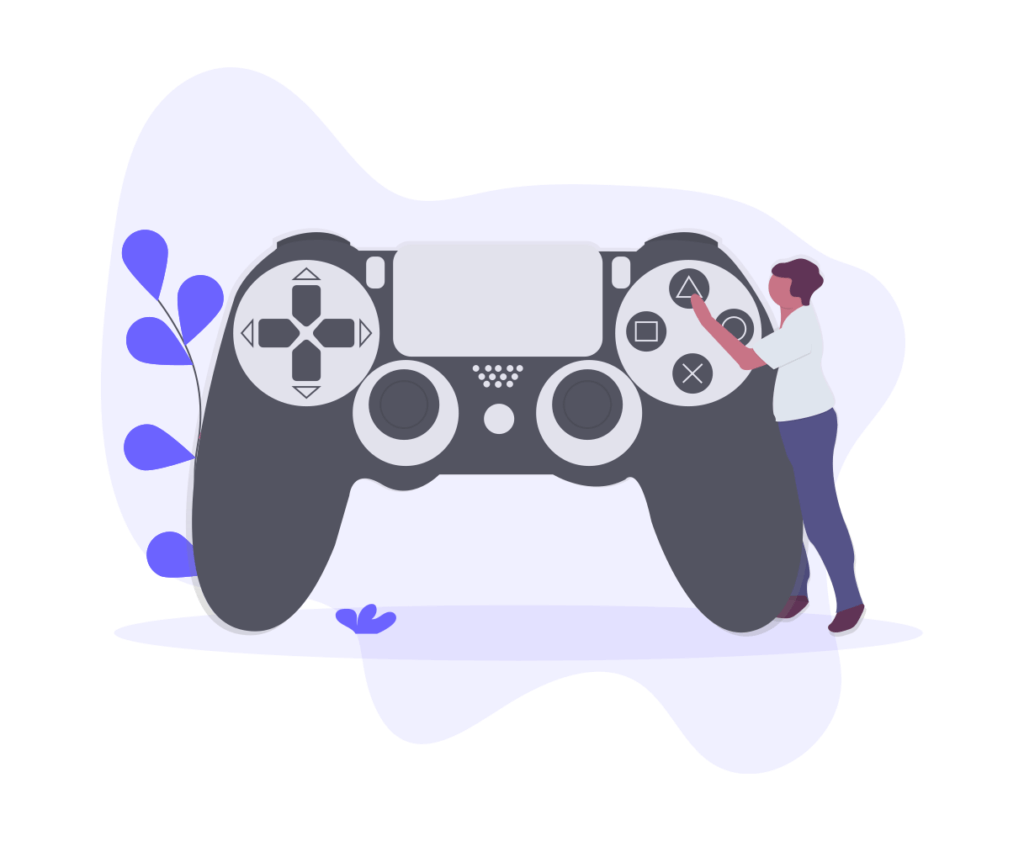 Play games while at home
