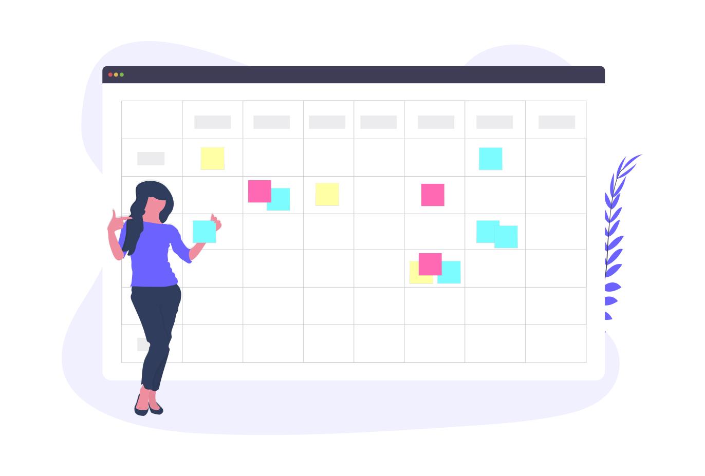 A calendar for productivity