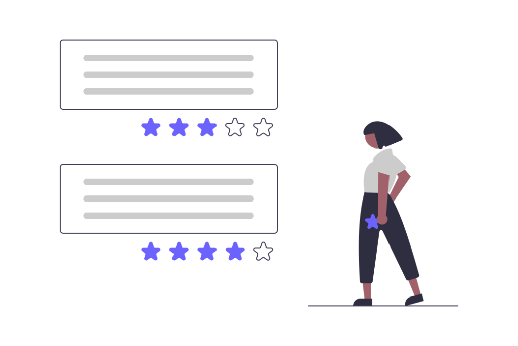 reviews are a strategy for customer service