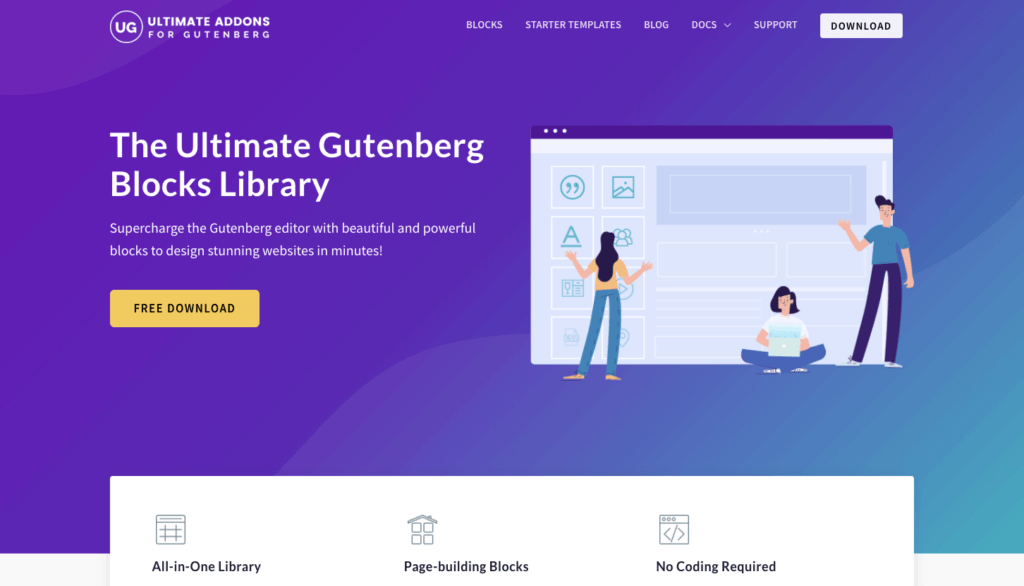 Ultimate Add-ons for Gutenberg