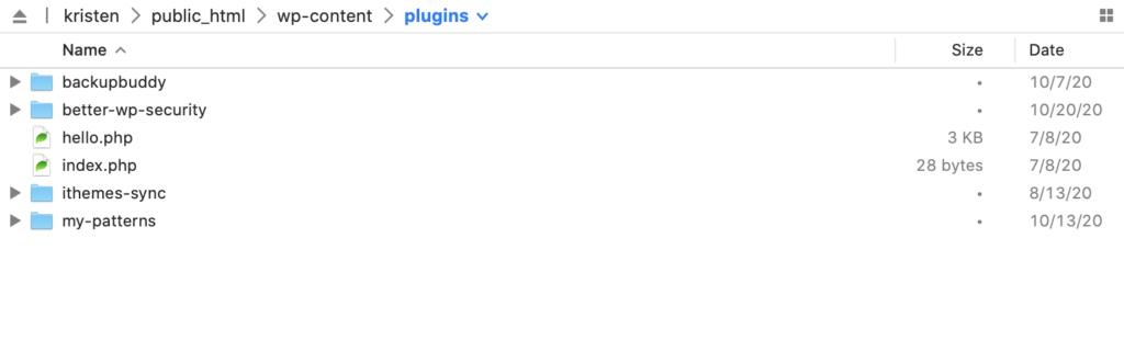 install WordPress plugin zip FTP