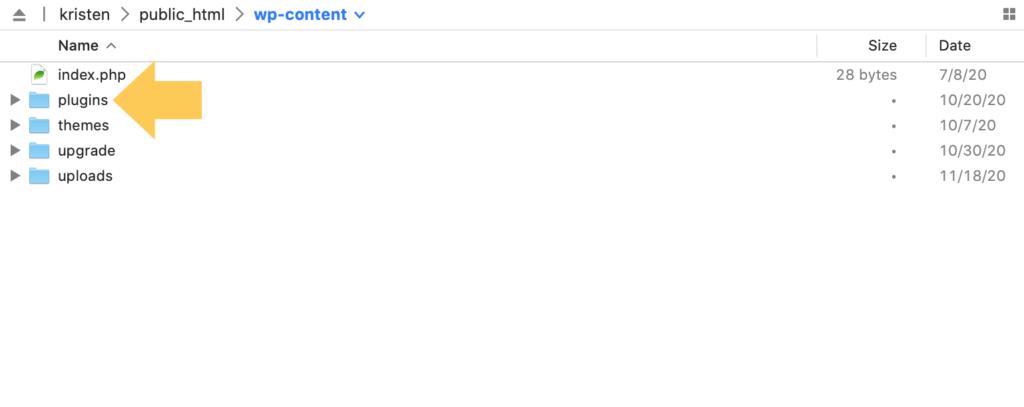 wp-content plugins