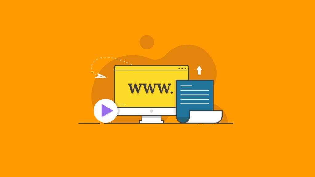 launching a website