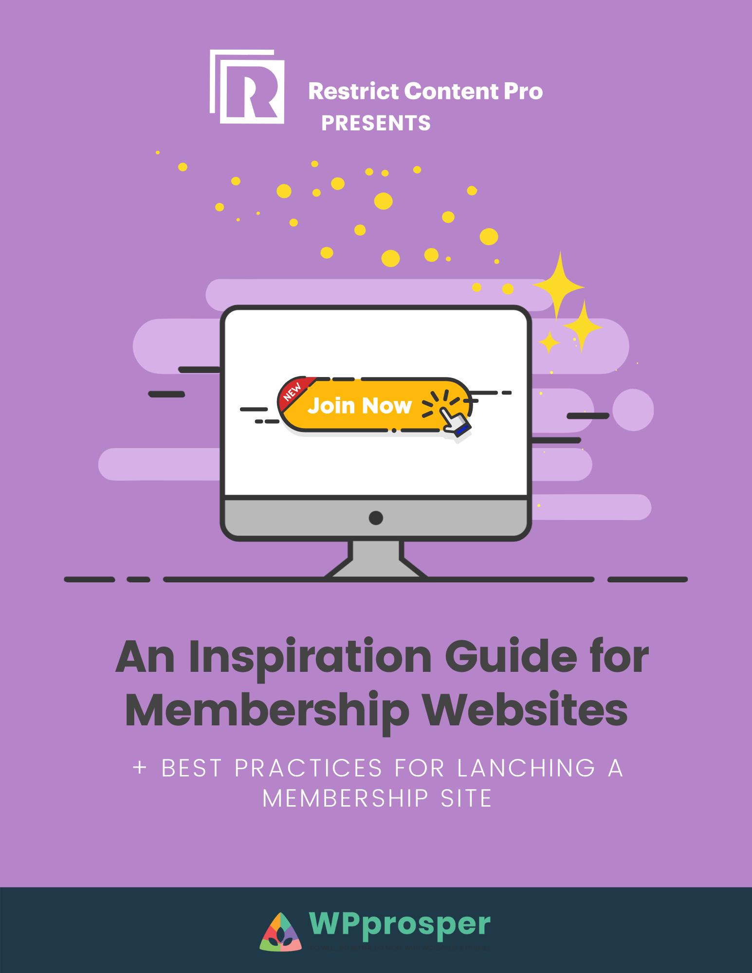 inspiration guide membership sites