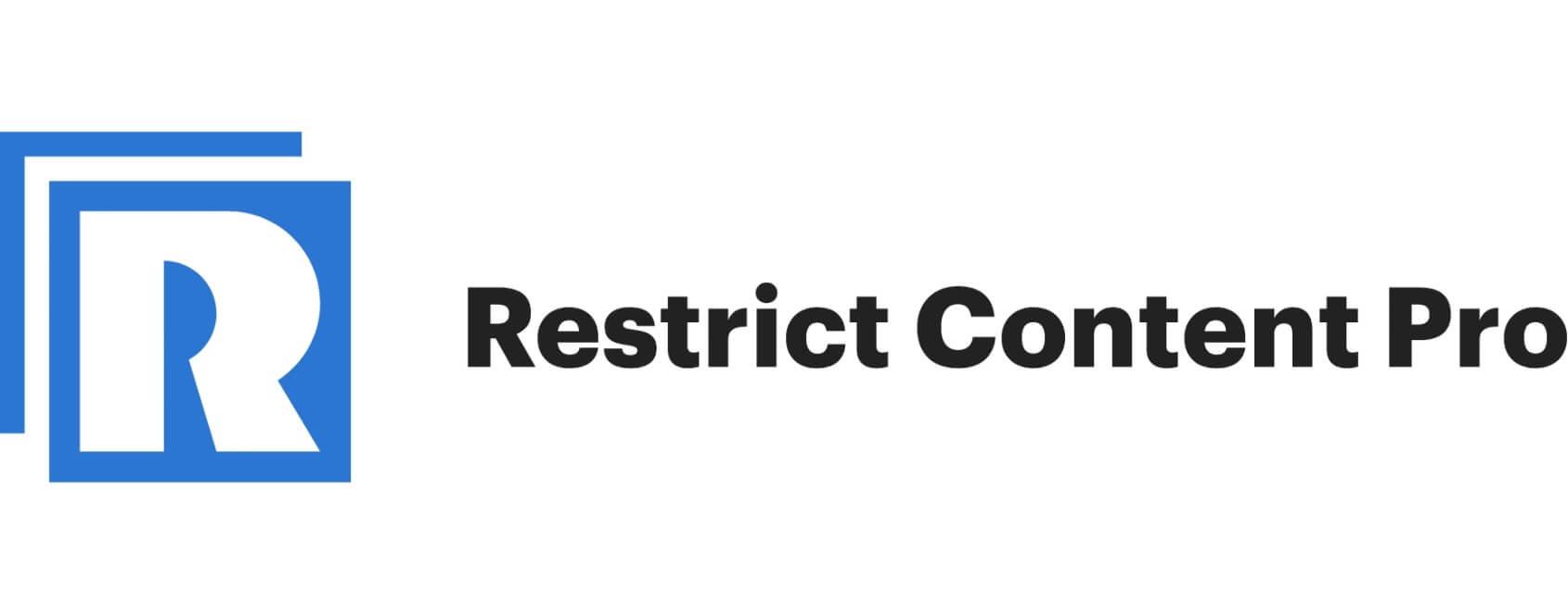 restrict content pro logo