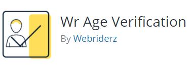 vulnerability report WR Age Verification