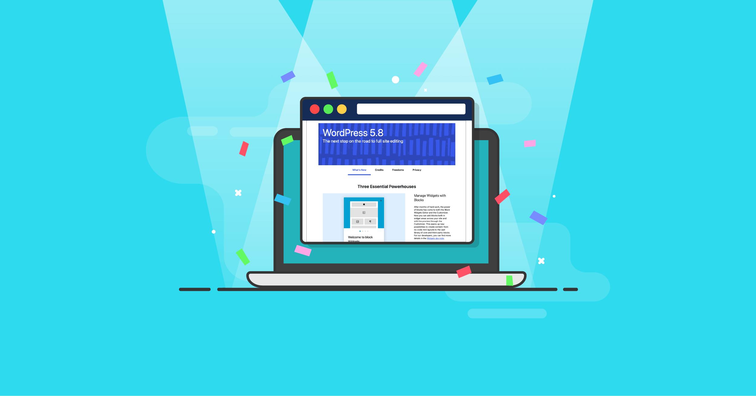 WordPress 5 8 guide WordPress 5.8: Top 20 Features & Improvements 1