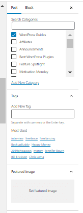 installing your wordpress featured image